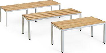 freistehende Sitzbank ECO Serie 150 cm