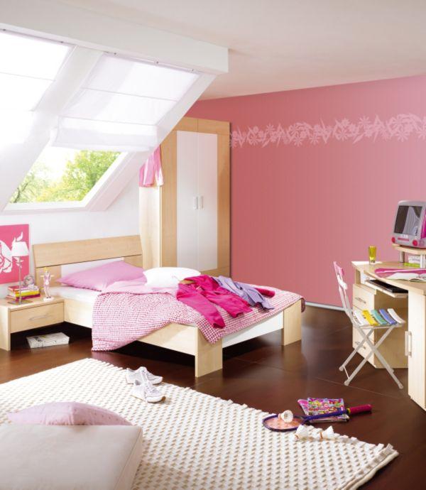 schlafzimmer gemutlich streichen ~ beste ideen für moderne ... - Deko Fur Kinderzimmer Punkten