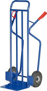 Protaurus  Stahlrohr-Stapelkarre für Lasten bis 350 kg - Luftbereifung