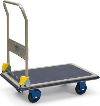 Protaurus  Plattformwagen 150 kg mit Schiebebügel, 74 x 48 x 92 cm