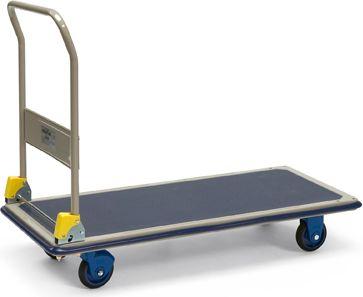 Protaurus  Plattformwagen 300 kg mit Schiebebügel, 121 x 61 x 99 cm
