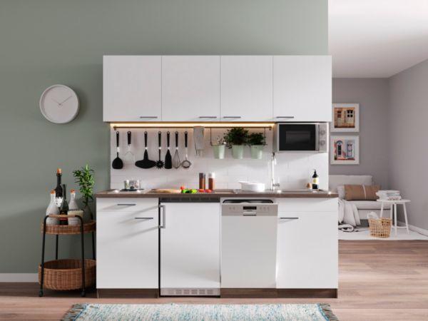 respekta k chenzeile kb195eywmi 195 cm eiche york nachbildung k che k chen. Black Bedroom Furniture Sets. Home Design Ideas