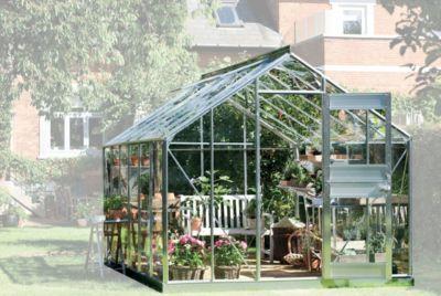 Juliana Junior 12,1 m² Gewächshaus mit 3 mm Blankglas