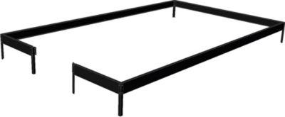 Kompakt Gewächshaus-Fundament - schwarz