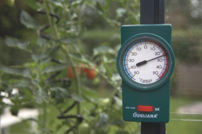 Min-Max Thermometer für Gewächshäuser