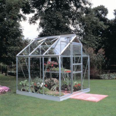 Popular 66 3,8 m² Gewächshaus mit 3 mm Blankglas