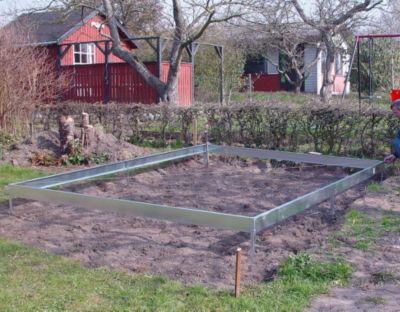 Halls Universal / Magnum 128 Gewächshaus-Fundament - Standard | Garten > Gewächshäuser | Stahl | Halls