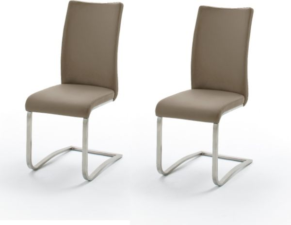2x schwingstuhl arco esszimmerstuhl freischwinger. Black Bedroom Furniture Sets. Home Design Ideas