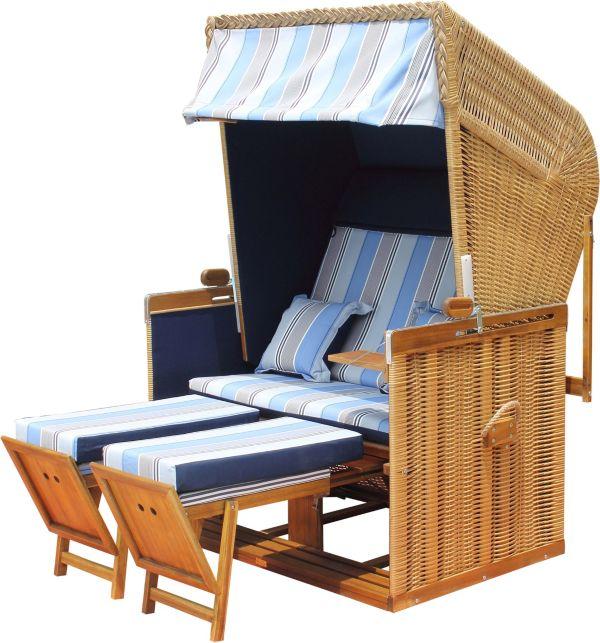 strandkorb trend 55 gartenkorb gartenm bel strandk rbe strandbank ebay. Black Bedroom Furniture Sets. Home Design Ideas