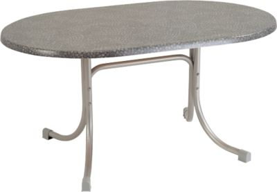 Gartentisch klappbar oval  Gartentisch Oval Ausziehbar. Amazing Esstisch Oval Ausziehbar ...