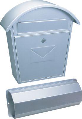 Aosta Set Briefkasten silber
