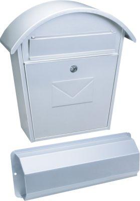 Aosta Set Briefkasten weiß