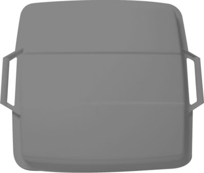 Graf  Deckel für Mehrzweckbehälter eckig 90 L grau