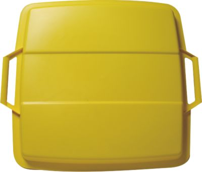 Graf  Deckel für Mehrzweckbehälter eckig 90 L gelb