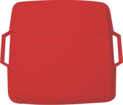 Graf  Deckel für Mehrzweckbehälter eckig 90 L rot