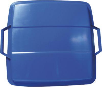 Graf  Deckel für Mehrzweckbehälter eckig 90 L blau