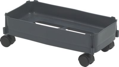 Fahrwagen für Mehrzweckbehälter eckig 60 L - für weiche Böden