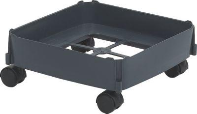 Fahrwagen für Mehrzweckbehälter eckig 90 L - für weiche Böden