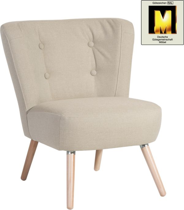 Max winzer sessel neele cocktailsessel clubsessel retro for Sessel 50er jahre