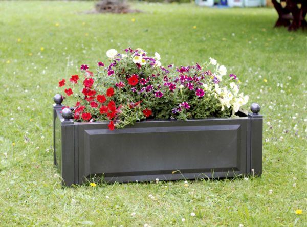 khw pflanzkasten rechteckig 100x43 cm blumekasten. Black Bedroom Furniture Sets. Home Design Ideas