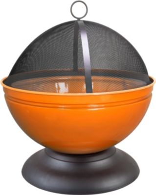 Globe Feuerschale, orange