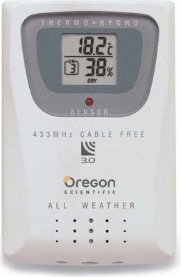 Oregon Scientific THGR810 Thermo/Hygro-Sensor W...