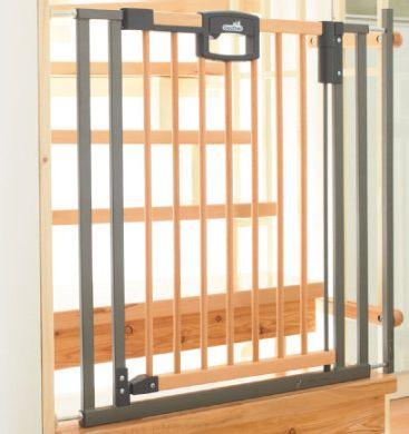 Treppenschutzgitter Easylock Wood 2793 84,5 - 92,5 cm