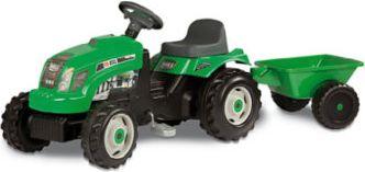 GM Traktor grün mit Anhänger
