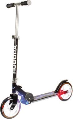 Scooter mit Licht L205, schwarz 14599