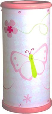 Tischleuchte Papillon inkl. Kerze LED 1-flg.