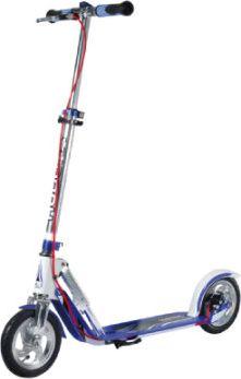 Scooter Big Wheel Air 205 Dual Brake, silber/blau 14015