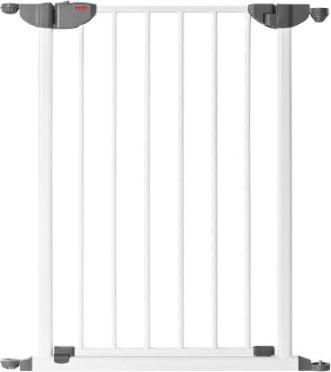 Absperrgitter MyGate Tür-Element weiß/grau