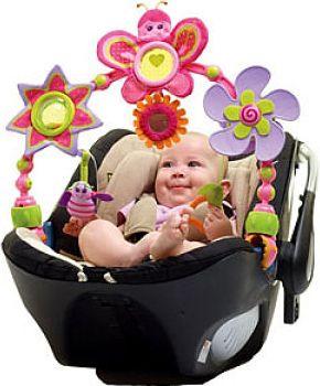 Spielbogen für unterwegs Tiny Princess Butterfly Stroll