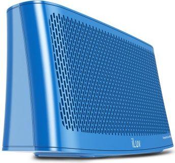iLuv  Wavecast portabler Bluetooth Stereo Lautsprecher - blau