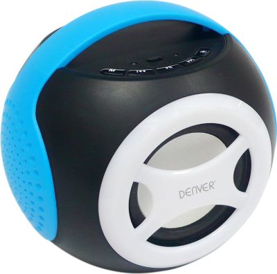 Denver  BTS-90 Universal 2.1 Bluetooth Lautsprecher - blau