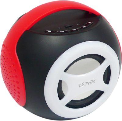 Denver  BTS-90 Universal 2.1 Bluetooth Lautsprecher - rot