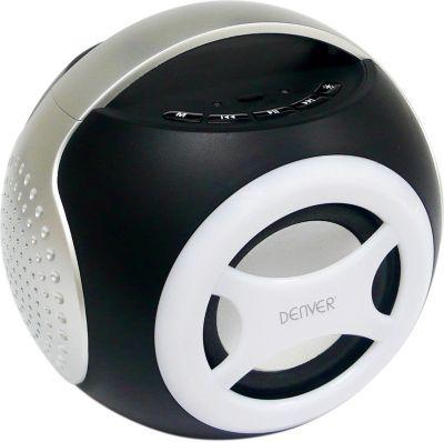 Denver  BTS-90 Universal 2.1 Bluetooth Lautsprecher - silber