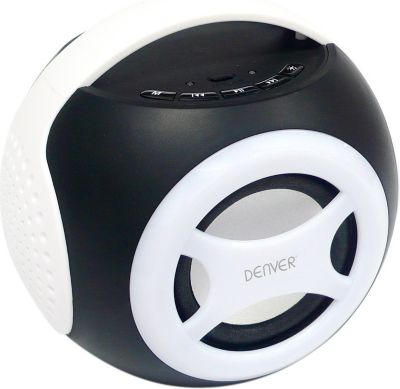 Denver  BTS-90 Universal 2.1 Bluetooth Lautsprecher - weiß