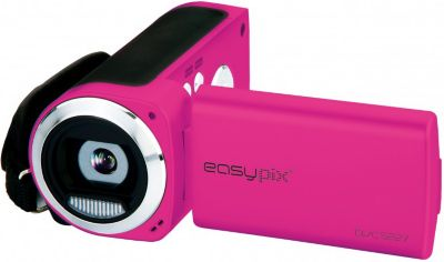 easypix DVC5227 Flash Camcorder - pink