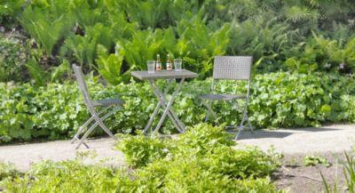 Garden Pleasure  Balkon Set, 3-teilig dunkelgrau