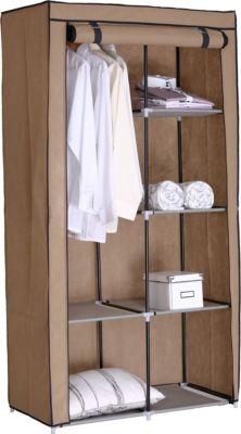 Falt-/Kleiderschrank RIMINI klein, beige