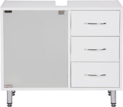 Waschbeckenunterschrank Lana in Weiß