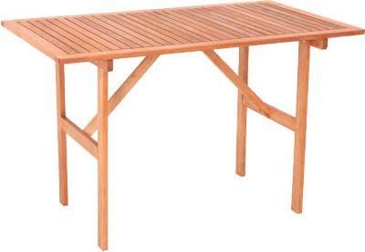 Merxx Gartentisch Monza aus Eukalyptusholz, 120 x 70 cm