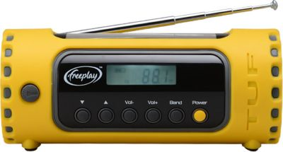 Freeplay freeplay Outdoor Radio TUF, mit Solarpanel und Taschenlampen-Funktion