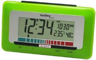 TechnoLine WL 1000 Luftgüte-Monitor mit Luftgütealarm - grün