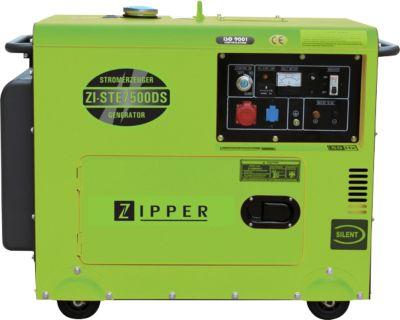 Zipper  Stromerzeuger Silent Diesel 5 kW bei 400 V ZI-STE7500DS