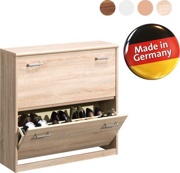 cs schmal schuhschrank soft plus 82 schuhregal. Black Bedroom Furniture Sets. Home Design Ideas