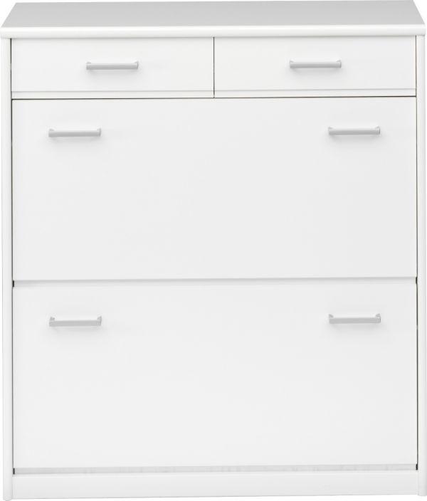 cs schmal schuhschrank soft plus 93 schuhregal. Black Bedroom Furniture Sets. Home Design Ideas