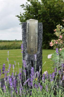 Ubbink AcquaArte Gartenbrunnen-Set Oviedo 45 cm hoch LED