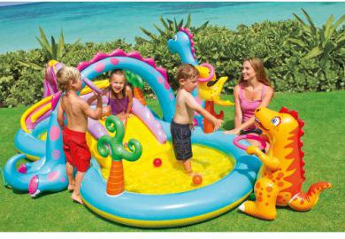 Intex pool planschbecken playcenter dinoland 333 x 229 for Hagebau intex pool